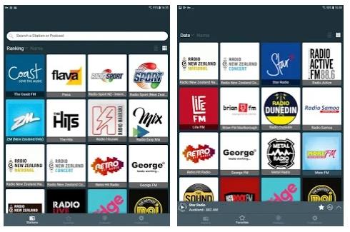 NZfm放送ライブ放送アプリ