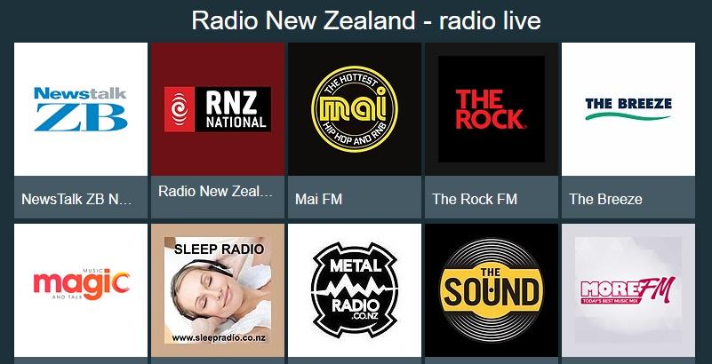 NZFMラジオネット視聴