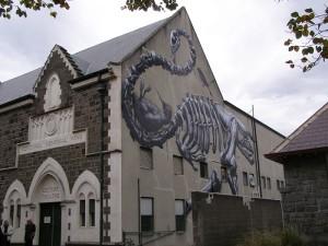 カンタベリー博物館ストリートアート