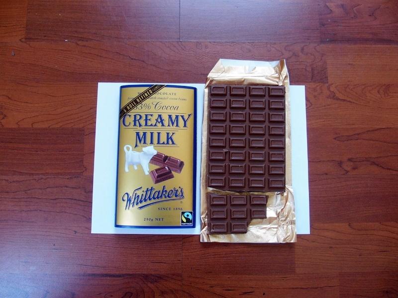 NZ産ウィッタッカーズ板チョコ