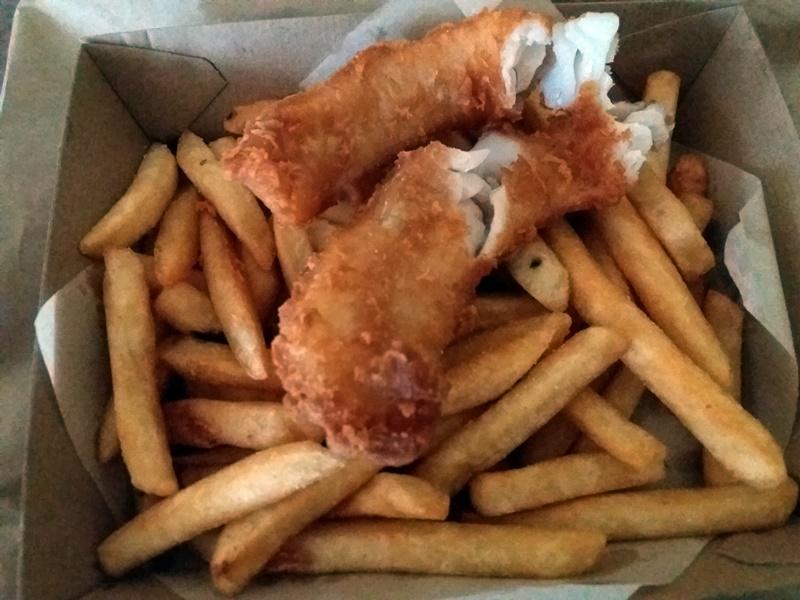 クイーンズタウンEriks fish&chips