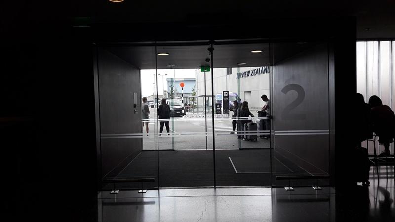 クライストチャーチ空港無料送迎シャトル駐車場