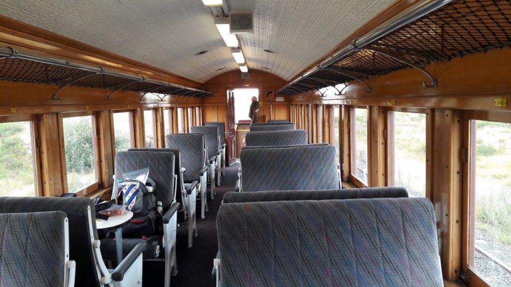 タイエリ鉄道客車