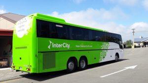 テカポとクライストチャーチ間の定期路線バスインターシティー
