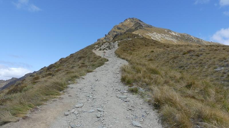 ベンロモンド山頂への登り道