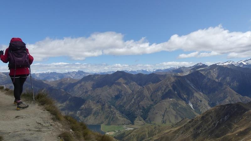 ベンロモンド山頂手前西側の緩斜面