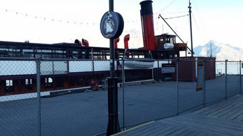 クイーンズタウンTSSアーンスロー号蒸気船5月16日