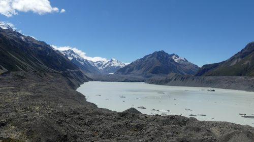 タスマン氷河湖見晴らし台