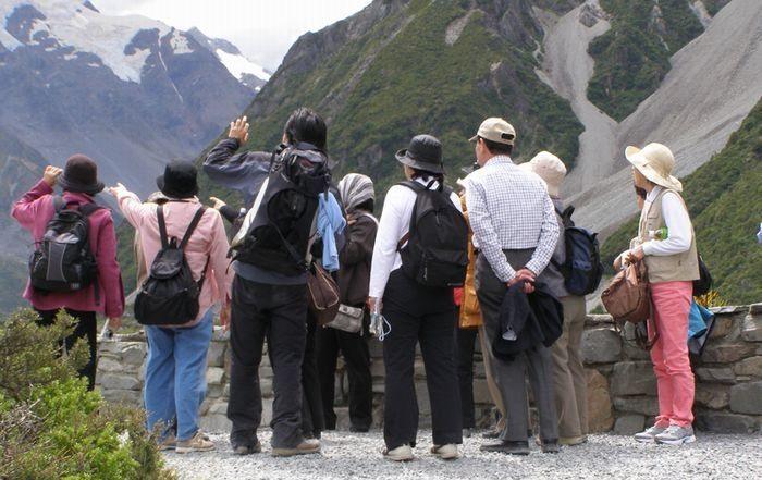 マウントクック半日ハイキングツアーに必要な服装