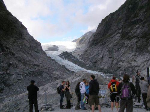 フランツジョセフ氷河ウォーク