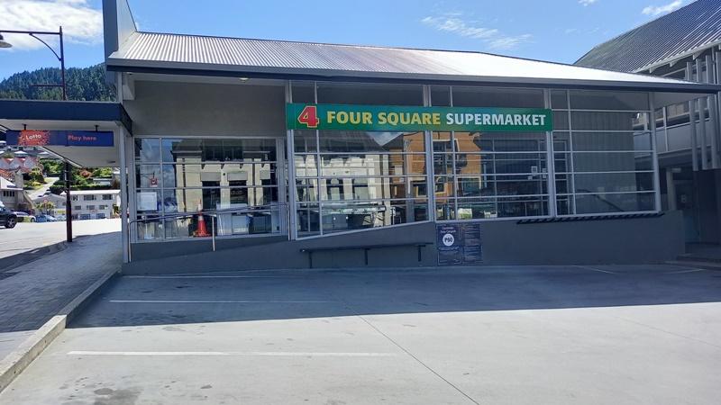 クイーンズタウンスーパーマーケットクリスマスの日