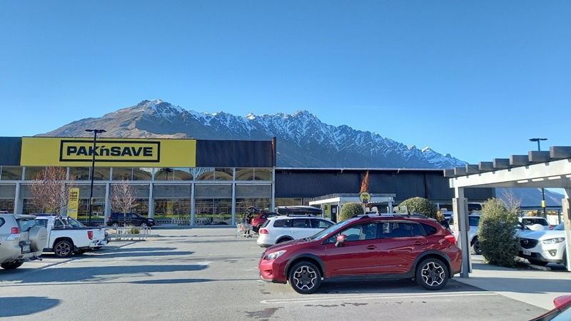 NZロックダウンレベル4クイーンズタウンスーパーマーケット